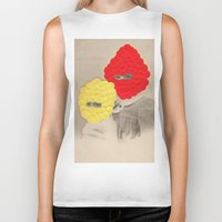 scales Biker Tanks featuring Scales by Naomi Vona