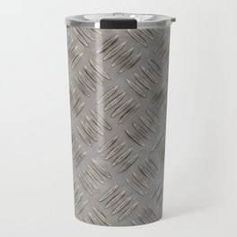 Metal diamond plate Travel Mug