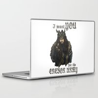 thorin Laptop & iPad Skins featuring Uncle Thorin by AlyTheKitten