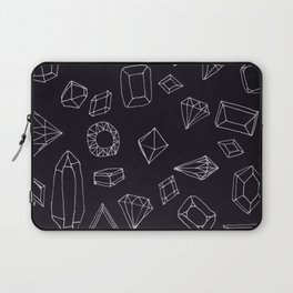 doodle crystals Laptop Sleeve