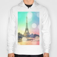 paris Hoodies featuring Paris. by Whimsy Romance & Fun