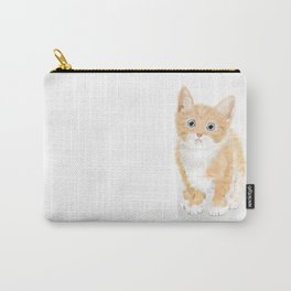 Cute Tiny Cat Carry-All Pouch