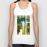 ufo Tank Tops featuring UFO by Bakal Evgeny