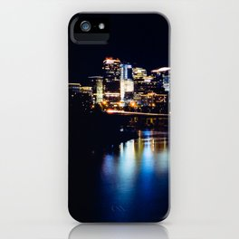 Rosslyn, Virginia reflecting in the Potomac River iPhone Case