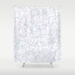 Candy Web Shower Curtain