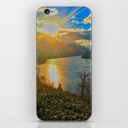 Columbia River Gorge, Sunset iPhone Skin