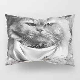 Diner Cat Pillow Sham