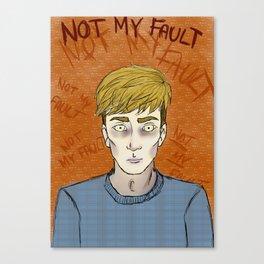 I am a PDS sufferer Canvas Print