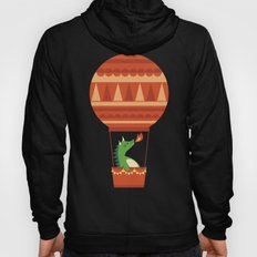 Dragon On Hot Air Balloon Hoody