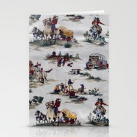 western Stationery Cards featuring Western  by Kim-maree Clark
