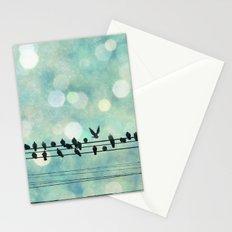 Snow Birds Stationery Cards
