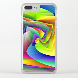 Vibrant Vision Clear iPhone Case