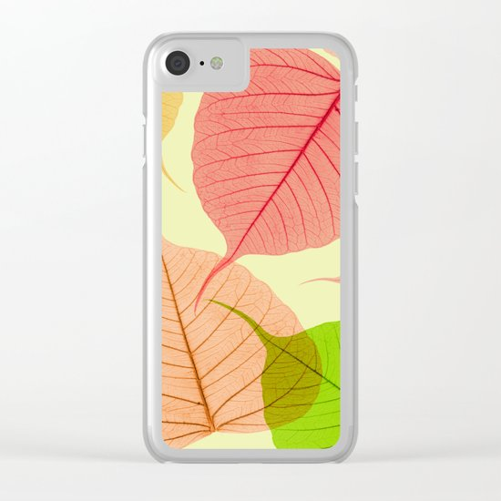 Organic Vivaldi Primavera Clear iPhone Case