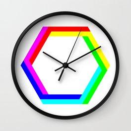 Penrose Hexagon Wall Clock