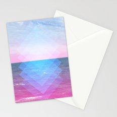 Sea Diamonds Stationery Cards