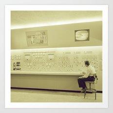Control Center Art Print