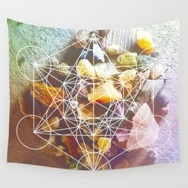backyard stones Wall Tapestry