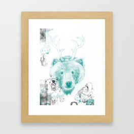 Bear Necessities Framed Art Print