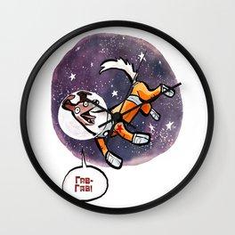 Laika the Space Dog Wall Clock