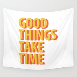 Good Things Quotes Wall Tapestry