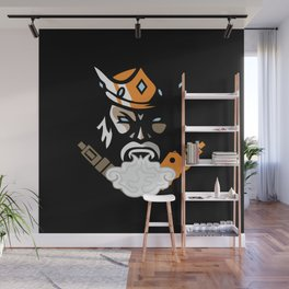 The king of vape #society6 #decor #buyart #artprint Wall Mural