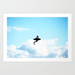 & Sharks Will Fly Art Print