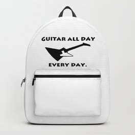 Guitar All Day Every Day Guitarist Backpack