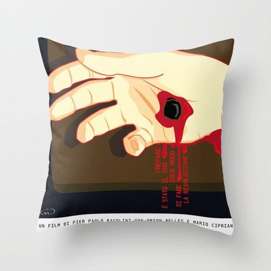La Ricotta Throw Pillow