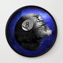 8Ball Death Star Wall Clock