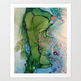 Stuck On an Island with You Art Print