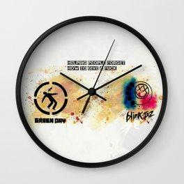 Punk Is Not Dead Wall Clock