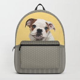 The English Bulldog Backpack