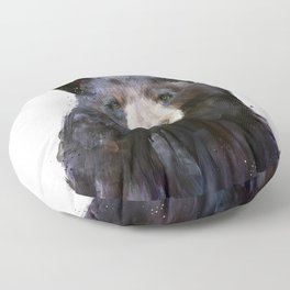 Black Bear Floor Pillow