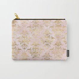 Pink and gold Antique style Carry-All Pouch