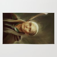 legolas Area & Throw Rugs featuring Legolas by taryndraws2