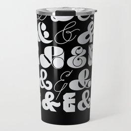 25 Ampersands Travel Mug