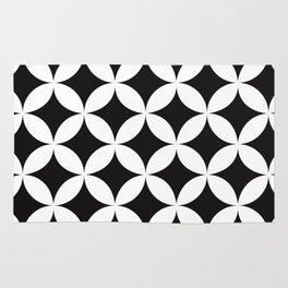 Shippo (cloisonne)Geometric Pattern Rug