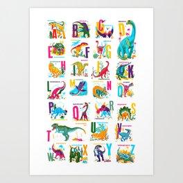 Alphasaurus Rex Art Print