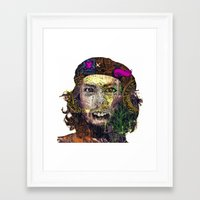 che Framed Art Prints featuring Che by JosephusBartin