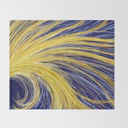 Light Burst's - Golden Light 1 Throw Blanket