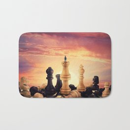 the rise of a chess player Bath Mat