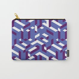 Geometrical Pattern Carry-All Pouch