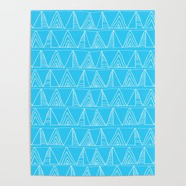 Triangles- Simple Triangle Pattern for hot summer days - Mix & Match Poster
