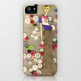 Buttons iPhone Case