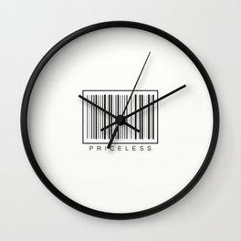 Priceless Wall Clock