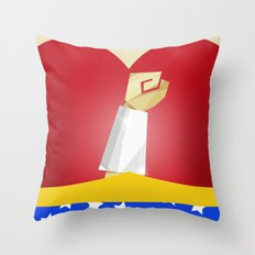 Polygon Heroes Rise 2 Throw Pillow