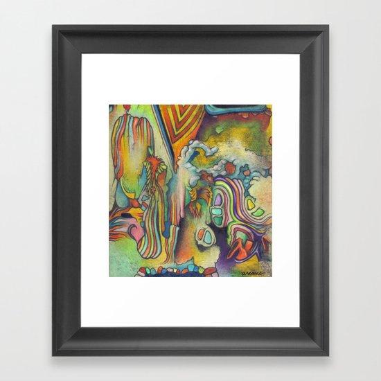 Octopi Nebulae Framed Art Print