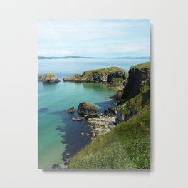 Ireland Seaside Metal Print