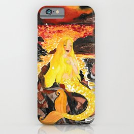 Mermaid Shona iPhone Case