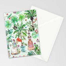 Frida's Garden Stationery Cards